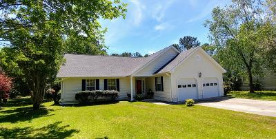 Single Family Home For Sale: 1583 Hatteras Sound