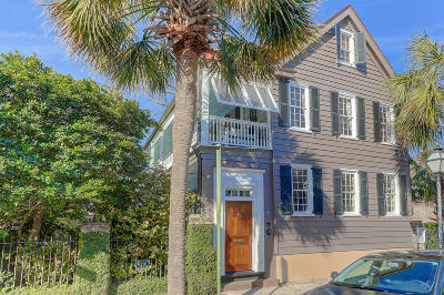 Charleston SC Single Family Home Contingent: $1,595,000