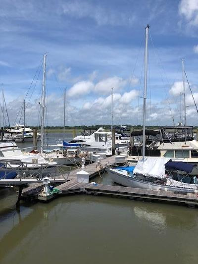 Charleston County Boat Slip For Sale: 1880 Andell Bluff Boulevard #H-15