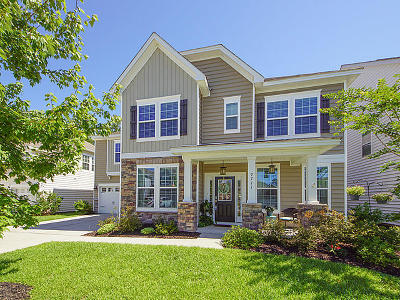 Ladson Single Family Home For Sale: 9711 Cutleaf Drive