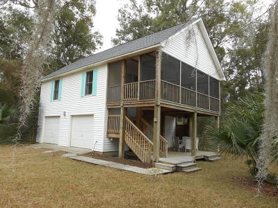 Edisto Island Single Family Home Contingent: 8601 Middleton Point Lane