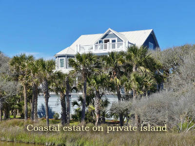 Edisto Island Single Family Home For Sale: 2 Lost Village Trail