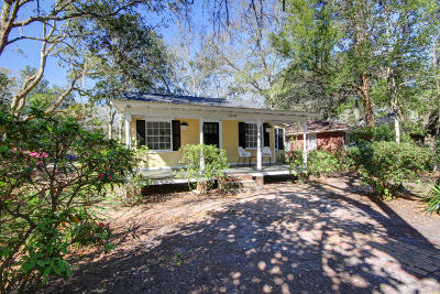 Charleston Single Family Home Contingent: 1249 Wisteria Road