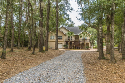 Edisto Island Single Family Home For Sale: 8448 Chisolm Plantation Road