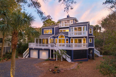 Isle Of Palms Single Family Home For Sale: 24 Oyster Row