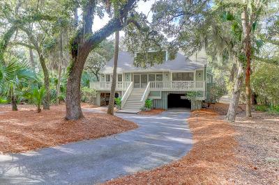 Seabrook Island Single Family Home For Sale: 2598 High Hammock Road