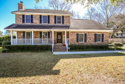 North Charleston Single Family Home Contingent: 215 Botany Bay Court