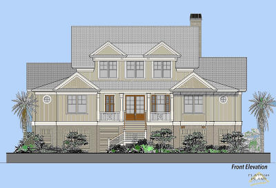 Seabrook Island Single Family Home For Sale: Oyster Catcher Court #Lot 6