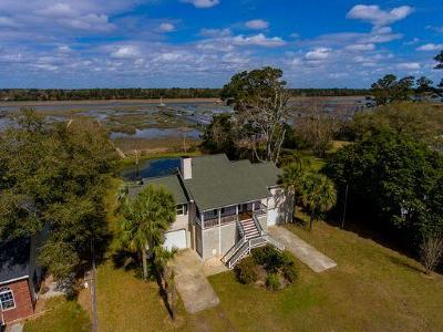 Johns Island Single Family Home Contingent: 2648 Bohicket Road