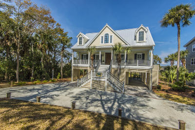 Edisto Beach Single Family Home Contingent: 1103 Jungle Road