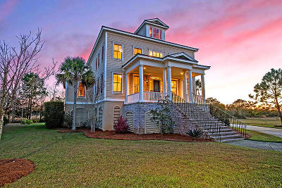 Johns Island Single Family Home For Sale: 2411 Rushland Landing Road