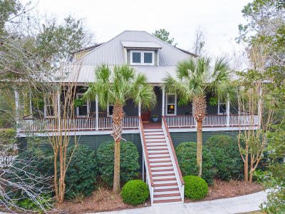 Johns Island Single Family Home For Sale: 1039 Bulow Point Road