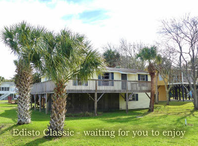 Edisto Island Single Family Home For Sale: 3215 Palmetto Boulevard