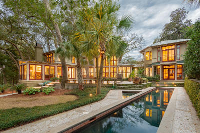 Charleston Single Family Home For Sale: 672 Ellis Oak Drive