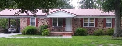 Walterboro Single Family Home For Sale: 514 Warren Street
