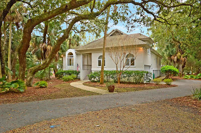 Seabrook Island Single Family Home Contingent: 3029 Hidden Oak Drive