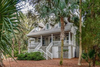 Johns Island Single Family Home Contingent: 2649 Seabrook Island Road