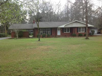 Holly Hill Single Family Home For Sale: 1423 Bennett Circle
