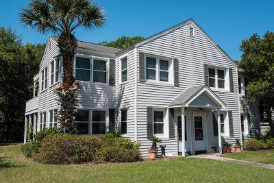 Isle Of Palms Single Family Home For Sale: 3 26th Avenue