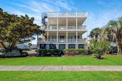 Isle Of Palms Single Family Home For Sale: 601 Ocean Boulevard