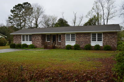 Walterboro Single Family Home Contingent: 302 Country Lane