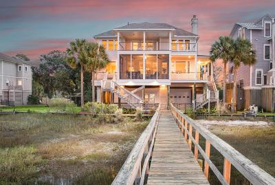 Folly Beach Single Family Home For Sale: 11 Red Sunset Lane