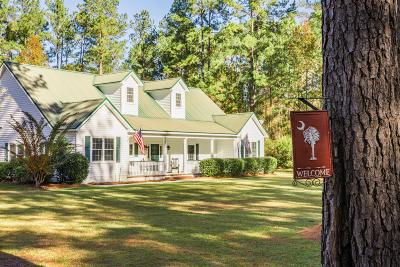 Walterboro Single Family Home For Sale: 626 Benton Farm