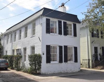 Charleston Single Family Home Contingent: 51 S Battery Street #1/2