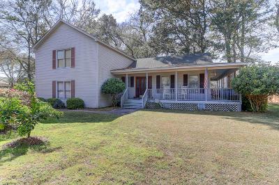 Mount Pleasant Single Family Home Contingent: 851 Pine Shadow Lane
