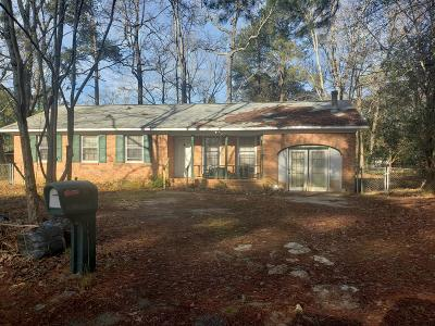 Summerville Single Family Home For Sale: 109 Chalmers Court