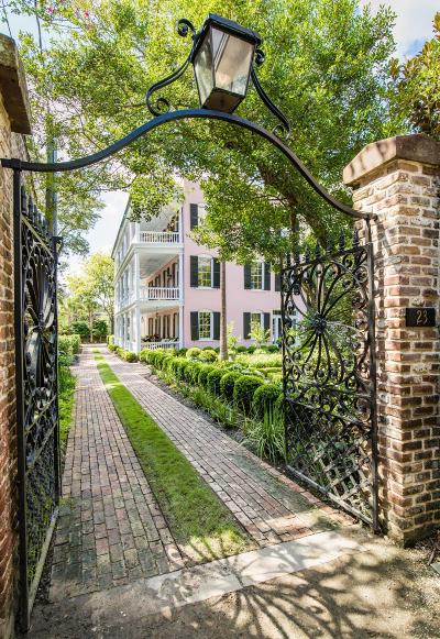 Charleston Single Family Home Contingent: 23 Legare Street