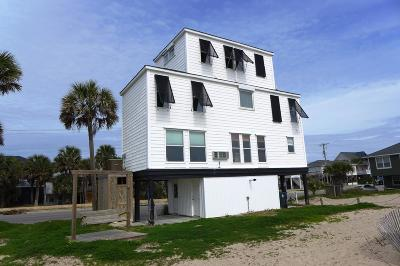 Edisto Beach Single Family Home For Sale: 302 Palmetto Boulevard