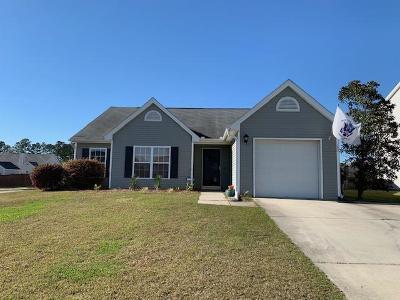 Goose Creek Single Family Home Contingent: 132 Salem Creek Drive