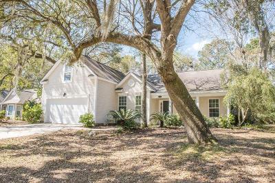 Mount Pleasant Single Family Home For Sale: 532 Oak Park Drive