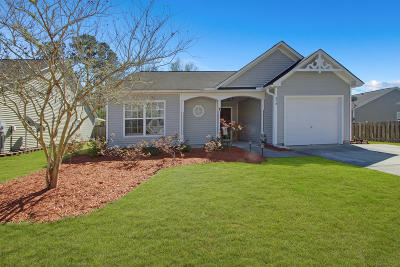 Goose Creek Single Family Home Contingent: 215 Island Green Road