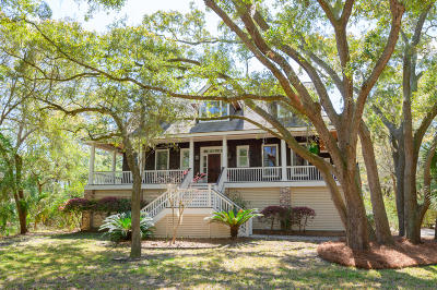 Seabrook Island Single Family Home For Sale: 2541 Clear Marsh Road