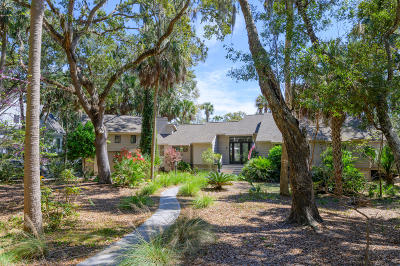 Seabrook Island Single Family Home Contingent: 2513 The Bent Twig