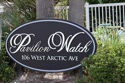 Folly Beach Attached For Sale: 106 W Arctic #1-B