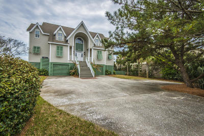 Isle Of Palms Single Family Home For Sale: 206 Ocean Boulevard