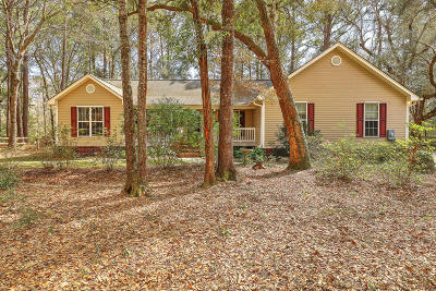 Johns Island Single Family Home For Sale: 2865 Fagan Way