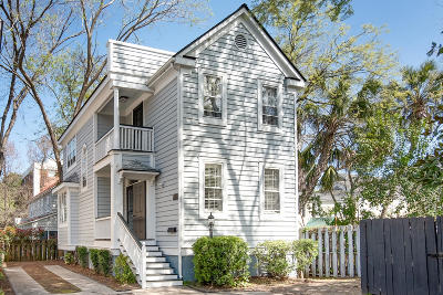 Charleston Single Family Home For Sale: 108 Smith Street #108-G