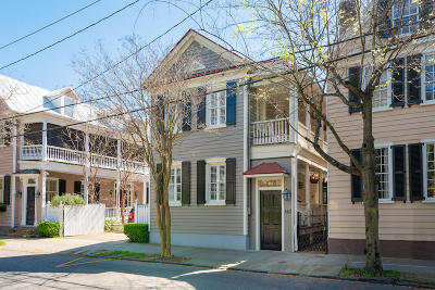 Charleston Single Family Home For Sale: 143 Queen Street
