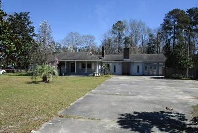 Walterboro Single Family Home For Sale: 1108 Sidneys Road