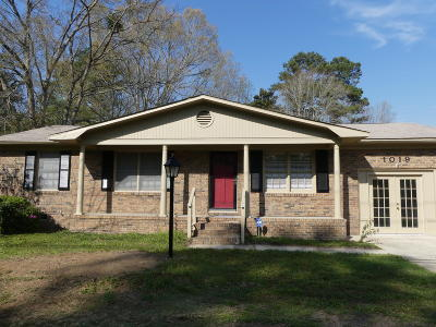Summerville Single Family Home For Sale: 1019 Miles Jamison Road