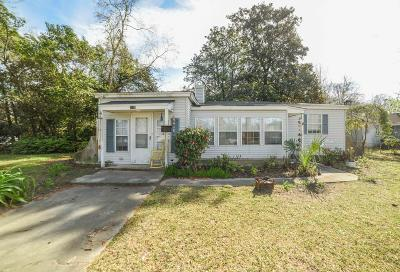 North Charleston Single Family Home For Sale: 5238 Parkside Drive