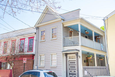 Charleston Single Family Home Contingent: 113 Line Street
