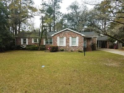 Walterboro Single Family Home For Sale