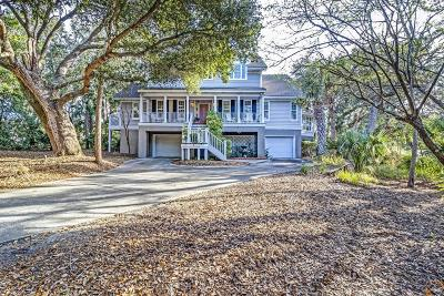 Isle Of Palms Single Family Home For Sale: 8 Sandwedge Lane