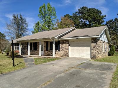 Summerville Single Family Home Contingent: 107 Eagle Drive