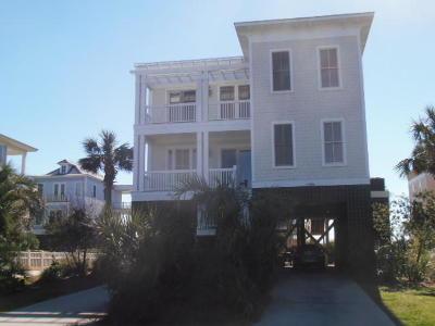 Folly Beach Single Family Home For Sale: 1679 E Ashley Avenue #A